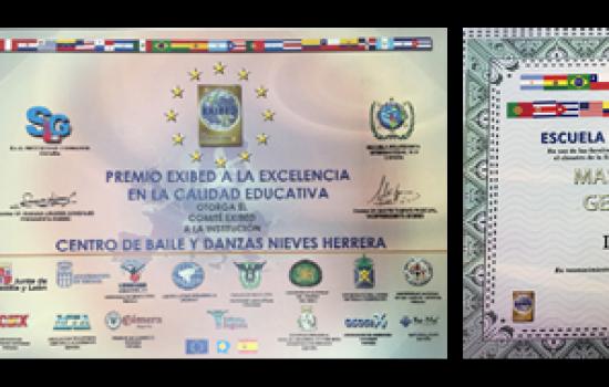 Premios | Escuela de Danza Nieves Herrera